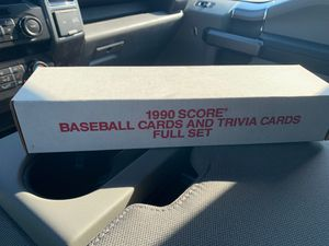 Score 1990 complete set of baseball cards for Sale in San Clemente, CA