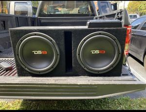 """DS18 12"""" Subwoofer with amplifier for Sale in Miami, FL"""