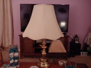 Brass lamps both 25.00 for Sale in Kingsport, TN