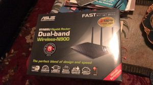 Asus RT-N66U Dual-Band Wireless-N900 Gigabit Router for Sale in Cumming, GA