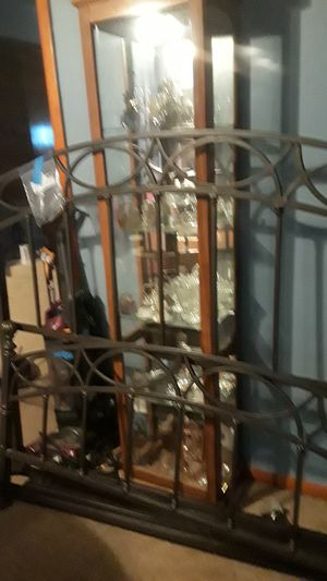 Nice metal bed frame for Sale in Cleveland, OH