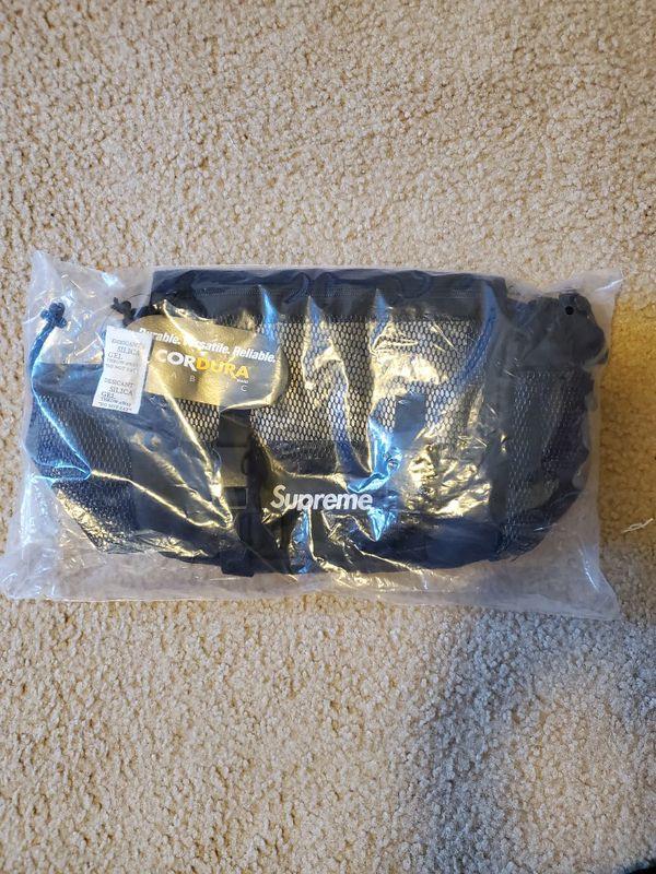 [SS20] Supreme Mesh Waist Bag (Black)
