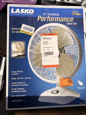 """Lasko 16"""" Oscillating Table Fan for Sale in Arlington, TX"""