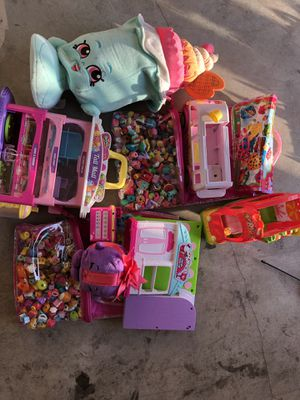 Shopkins and accessories! Lol and accessories, monster university etc for Sale in Saint Petersburg, FL