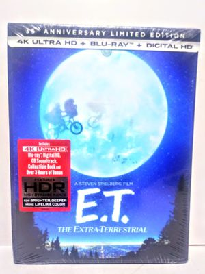 E.T. 35th Anniversary Blu-Ray DVD for Sale in Garland, TX