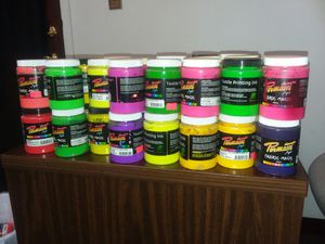 Huge lot Assorted Permaset & Speedball fabric and textile paint for Sale in Orlando, FL