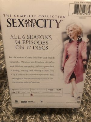 Sex And The City DVD Collection for Sale in Pittsburg, CA