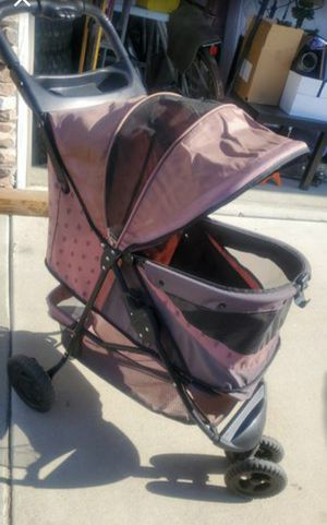 Pet Gear Special Edition No-Zip Dog & Cat Stroller, Coffee Brown for Sale in Chino Hills, CA