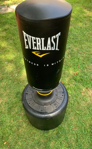 Everlast punching bag for Sale in Old Bridge Township, NJ