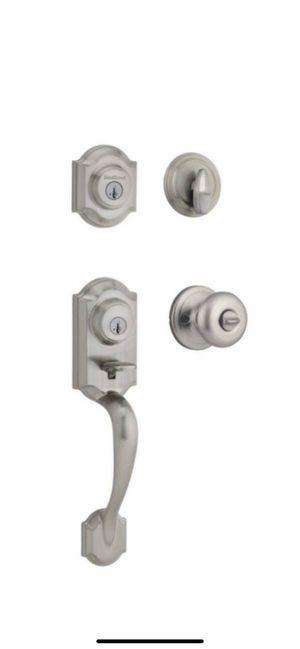 Kwikset Montara Brushed nickel smart key front door lock for Sale in Phoenix, AZ