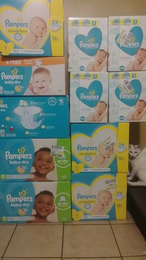Pampers $20 a box and wipes are $7 a box for Sale in Philadelphia, PA