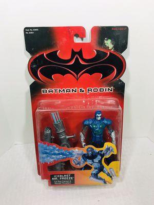 Vintage 1997 Kenner Batman & Robin Iceblast Mr. Freeze for Sale in Pawtucket, RI
