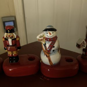 Christmas Candle Holders for Sale in Pasadena, CA