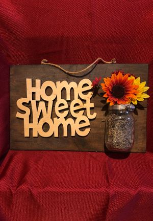 Home sweet home decor for Sale in Winchester, VA
