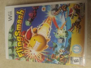 Fling smash wii game works great for Sale in Lake Stevens, WA