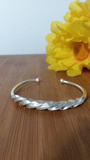 1PC Beautiful Fulani Silver Twist Bracelet for Sale in Chicago, IL