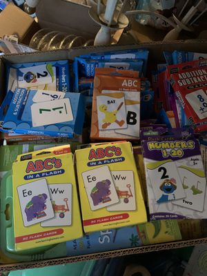Learning flash cards for Sale in Eatonville, WA