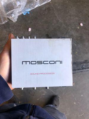 Mosconi sound precessor audio amp amplifier for Sale in Sacramento, CA