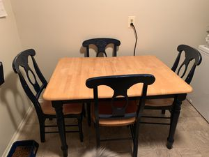 Kitchen Table with 4 chairs for Sale in Sykesville, MD