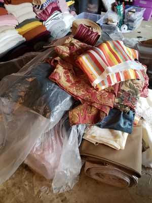 Rolls/yards of upholstery fabric for Sale in Glendora, CA