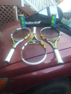 Tennis Rackets Bag And Balls for Sale in Lacey,  WA
