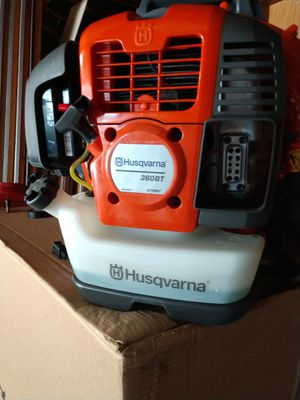 Husqvarna backpack blower for Sale in Addison, IL