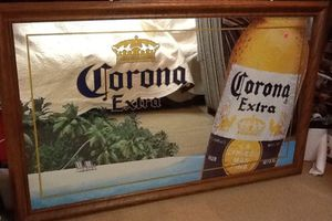 Corona extra beer huge promotional mirror for Sale for sale  Old Bridge Township, NJ