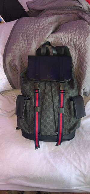Black and navy soft leather Gucci backpack for Sale in Goodyear, AZ