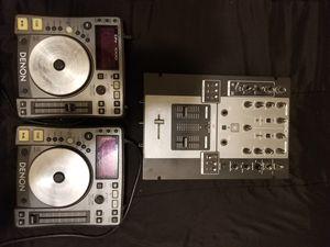 DJ Mixer Set Denon for Sale in Vancouver, WA