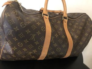 100% Authentic Louis Vuitton Travel Bag. Serial #: SP0943 Send me offers and Check my other listings for Sale in Lanham, MD