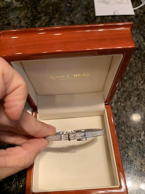 Diamond Bracelet by Robert Wesley for Sale in Chandler, AZ