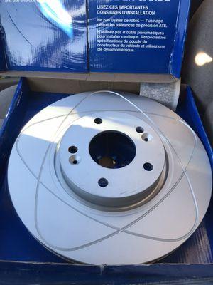 ATE slotted brake rotors pair Hyundai/Kia for Sale in Las Vegas, NV