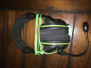 Green Turtle Beach Headset X32 for Sale in Apple Valley, CA