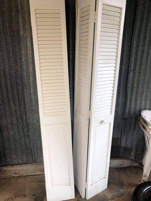 Bi-folding closet doors for Sale in San Angelo, TX