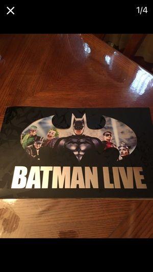 Batman Live World Arena Tour Book for Sale in Riverside, IL
