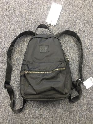 NEW with Tags HERSCHEL Nova Mini Backpack Black Nylon for Sale in Walnut, CA