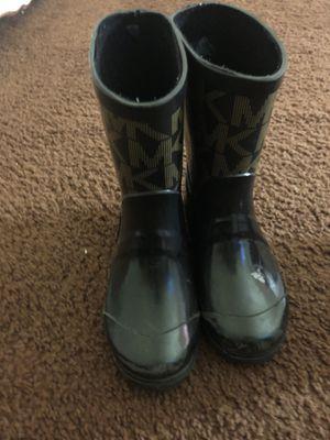 Michel kors kids rain boots for Sale in Oakton, VA