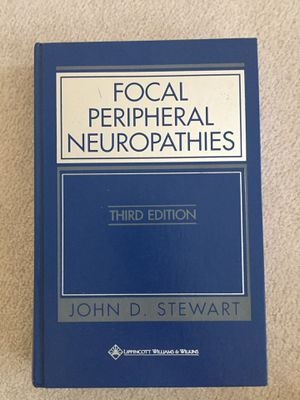 Focal peripheral neuropathy's, third edition for Sale in Sacramento, CA