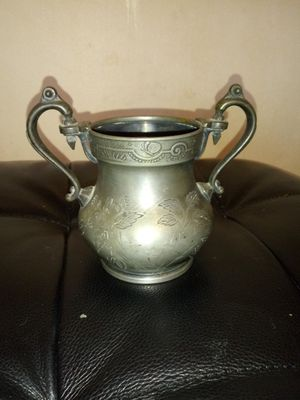 REED AND CROFT PEWTER SUGAR BOWL for Sale in Cincinnati, OH