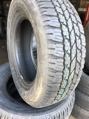265/65/17 Bridgestone tires (4 for $400) for Sale in Whittier, CA