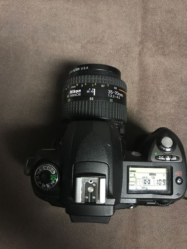 Nikon D70 Digital Camera with lens