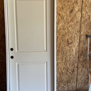 32x80 Solid Wood Door Right Swing for Sale in Glenn Heights, TX