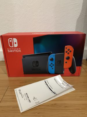 Nintendo Switch V2 (NEWEST VERSION) BRAND NEW IN BOX FROM TARGET for Sale in Hayward, CA