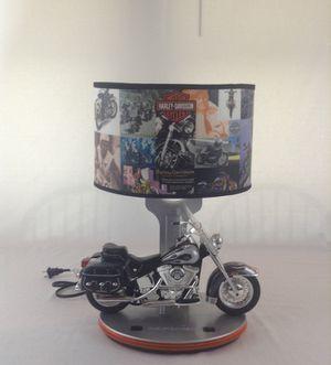Working Tested Harley Davidson Tabletop Bedside Lamp for Sale in Redford Charter Township, MI