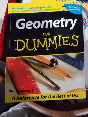 Geometry for Dummies for Sale in Moreno Valley, CA