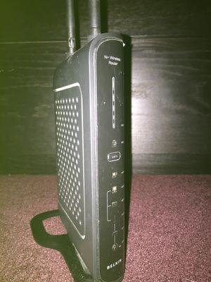Belkin N wireless router for Sale in Salt Lake City, UT