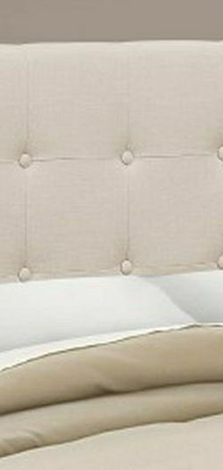 Brand New In The Box!!! Beige Cloth Headboard for Sale in Carbonado,  WA
