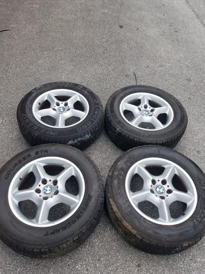 Rims 17 bmw 5 lugs 120 mm for Sale in Davie, FL