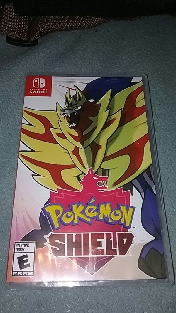 Pokemon shield nintendo switch never opened