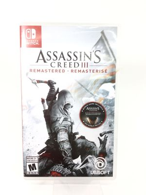Nintendo Switch Assassin's Creed III Remastered Video Game for Sale in Kent, WA